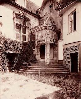 Eugène Atget (French, 1857-1927)      Beauvais, rue de l'Abbé Gelée