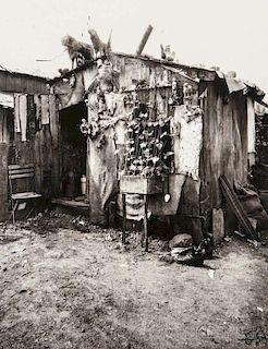 Eugène Atget (French, 1857-1927)      Ragpicker's Hut