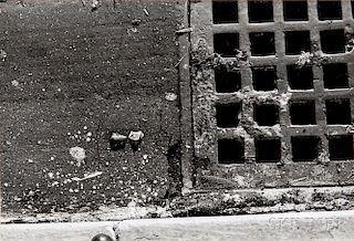 Walker Evans (American, 1903-1975)      New York City Gutter