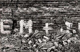 Walker Evans (American, 1903-1975)      New York City Yard