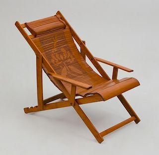 Salesman Sample Rattan Yachting Chair