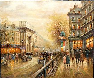 Boyer, C., From The School Of Antoine Blanchard, French 20th C.