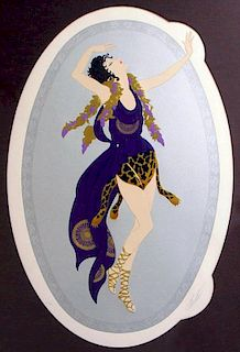 Erte (Romain D' Tirtoff), Russian/French 1892-1990