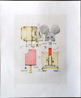Oldenburg, Claes, American 20th C.