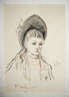 Paul Caesar Helleu, French (1859 – 1927)