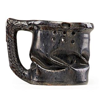 GEORGE OHR Puzzle mug with in-body twist