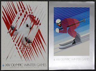 Lot of 22 Winter Olympics 1984: Sarajevo,