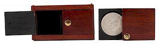 Sliding Coin Box.