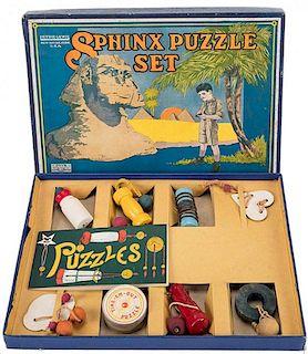 Sphinx Puzzle Set.