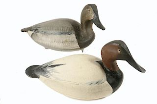 PAIR OF SIGNED WARD BROS. DUCK DECOYS