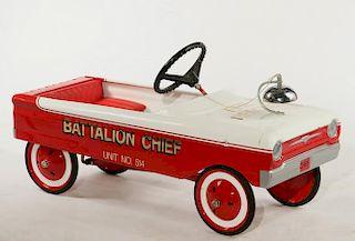 BATTALION CHIEF PEDAL CAR