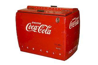 1950S COCA-COLA COMMERCIAL COOLER