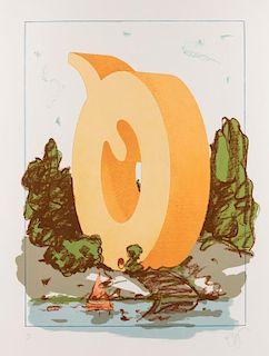 CLAES OLDENBURG (AMERICAN B. 1929)