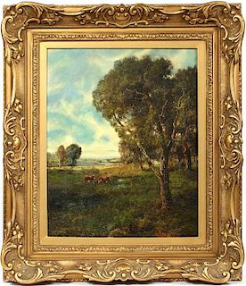 P.V. BERRY OIL ON CANVAS BOARD