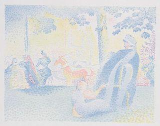 HENRI-EDMOND CROSS LITHOGRAPH ON CHINE VOLANT 1897