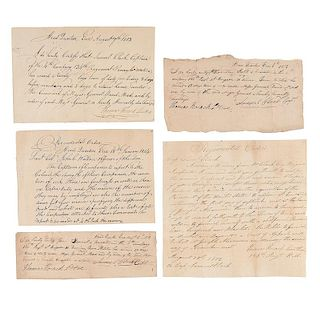 War of 1812 Archive of Captain Samuel Clark, 4th Company, 134th Regiment, Pennsylvania Militia