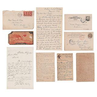 Adjutant General Ebenezer Stone, Massachusetts Infantry, Archive Incl. Personal Correspondence
