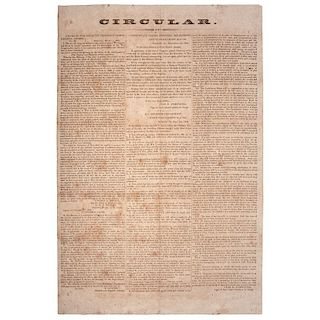 Confederate Broadside Concerning Potential Recruitment of Slaves, 1864