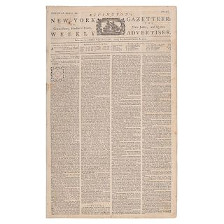 Rivington's New-York Gazetteer: Or the Connecticut, Hudson's River, New Jersey, and Quebec Weekly Advertiser, March 1774