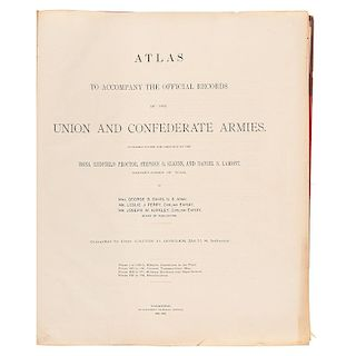 Atlas to Accompany the Official Records, 3 Volumes, 1891-1895