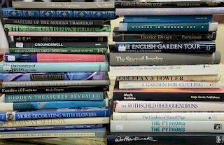 "Thirty-four coffee table books to include Abrams ""William Wegman"", Mark Rothko, etc."