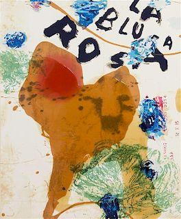 Julian Schnabel, (Amercian, b. 1951), La Blusa Rosa I