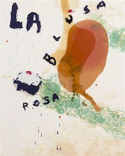 Julian Schnabel, (American, b. 1951), La Blusa Rosa II