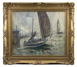 Mason Hunter (1854-1921) English Sailing Painting
