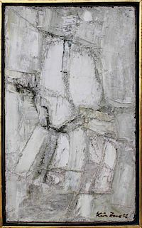 Leon Zack French Abstract Expressionist