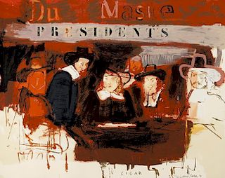 Larry Rivers Dutch Masters (Presidents) SIGNED LIMITED EDITION