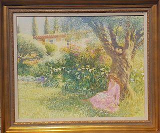 Louis Fabien French Impressionist Landscape painting