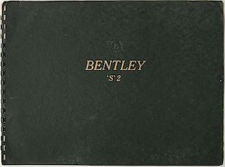 Bentley S2 brochure factory original