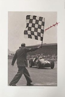 1951 British Grand Prix photograph – Jose Froilan Gonzales