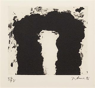 Richard Serra, (American, b. 1939), Dealers Choice, 1996