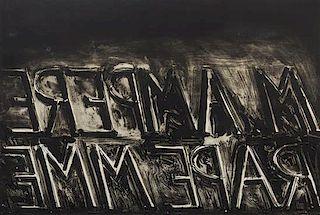 Bruce Nauman, (American, b. 1941), M. Ampere, 1973