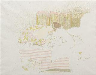Edouard Vuillard, (French, 1868-1940), La naissance dAnnette, 1899