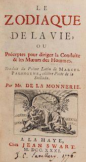 Stellato, Marcello Palingenio. Le Zodiaque de la vie.