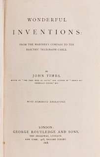 [Invention] Timbs, John. Wonderful Inventions