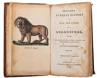 Buffon, George Louis Leclerc, Comte de. Buffon's Natural History