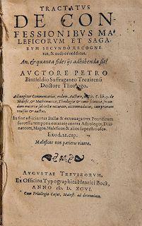 Binsfield, Pierre. Tractatus de confessionibus maleficorum et sagarum.