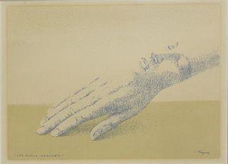 Rene Magritte, (Belgian, 1898-1967), Les bijoux indiscrets