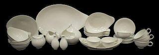 (29)MID-CENTURY EVA ZEISEL HALLCRAFT DINNER SET