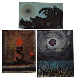 (3) MICHAEL FRARY (1918-2005) SURREALISTIC WORKS