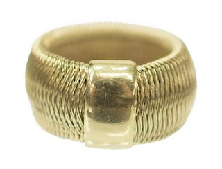 ROBERTO COIN ITALY 18KT GOLD ESTATE RING