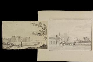 (2) DRAWINGS BY UNIDENTIFIED ARTISTS