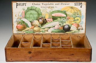 J.M. PHILIPS' SONS SEED BOX