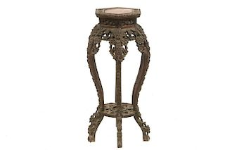 TALL CHINESE VASE STAND