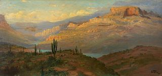 JOHN FERY (1859-1934), Canyon in Arizona