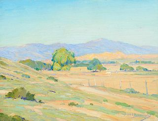 OSCAR BERNINGHAUS (1874-1952), Taos Valley