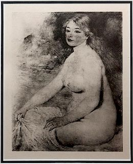 AFTER PIERRE AUGUSTE RENOIR PHOTOGRAVURE